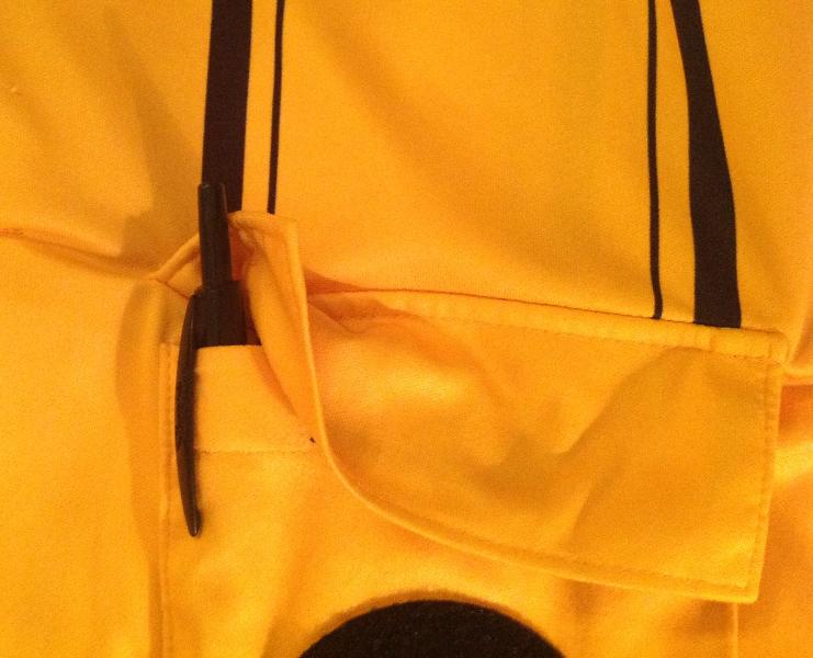 Sharpie Retractable in OSI Pro Jersey Pocket