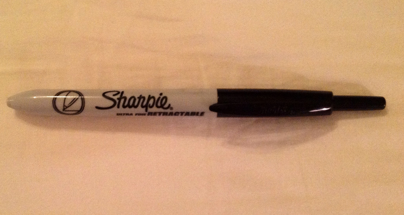 Sharpie Rectractable