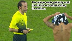 Removing Shirt Caution 5