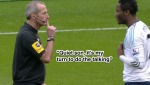 Martin Atkinson Deals With Mikel's Dissent Frame 1