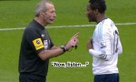 Martin Atkinson Deals With Mikel's Dissent Frame 2