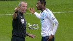 Martin Atkinson Deals With Mikel's Dissent Frame 4