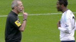 Martin Atkinson Deals With Mikel's Dissent Frame Fi
