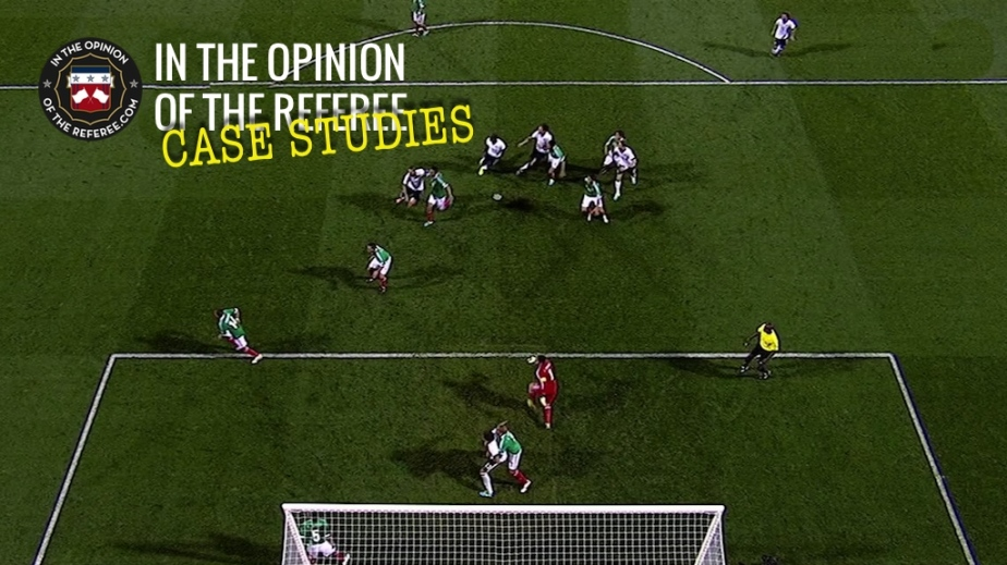 Case Study: Referee Takes Position in Goal Area for a CornerKick