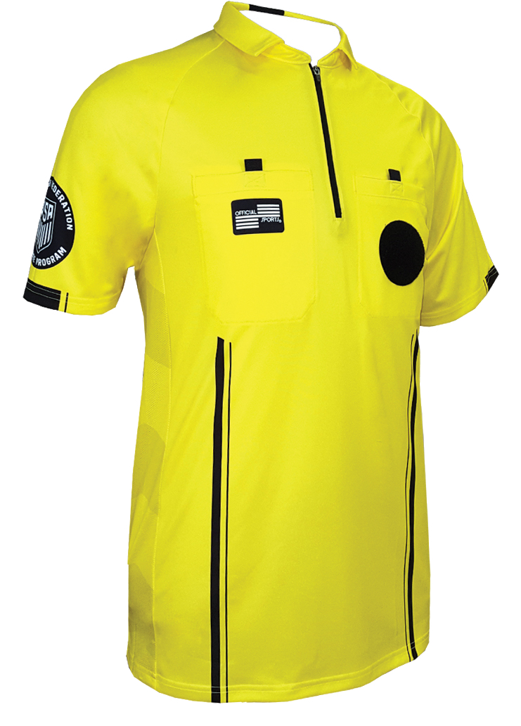 New USSF Referee Uniform Details